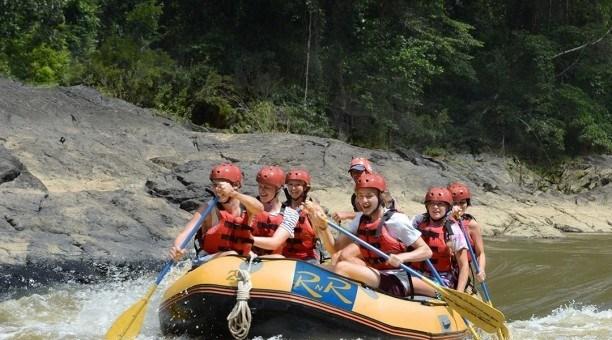 Barron River Rafting Cairns