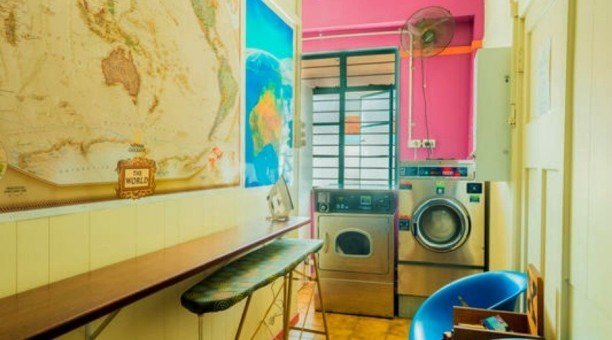 Modern Laundry facilities