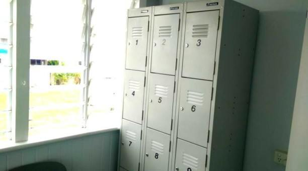 Lockers and luggage storage