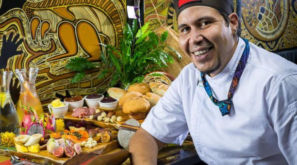 Aboriginal Food Buffet